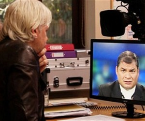 Rafael Correa y Julian Assange