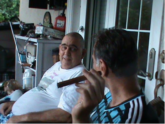 René y su hermano. Foto: Cortesía de los familiares/Cubadebate