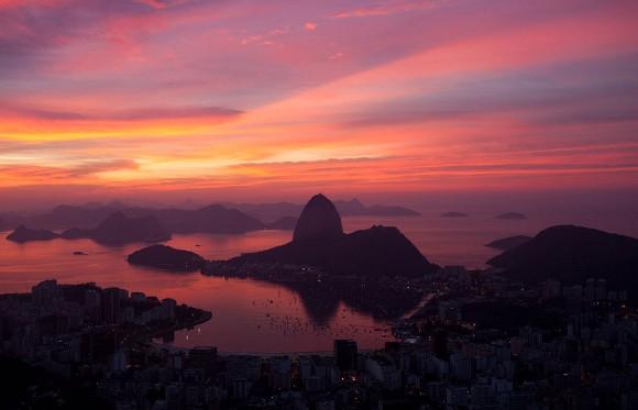 Amancer en Río+20. Foto: Felipe Dana/AP