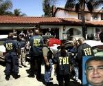 Imagen de la operación del FBI que arrestó a Robert Ferro y decomisó el enorme arsenal de armas en mayo de 2006.
