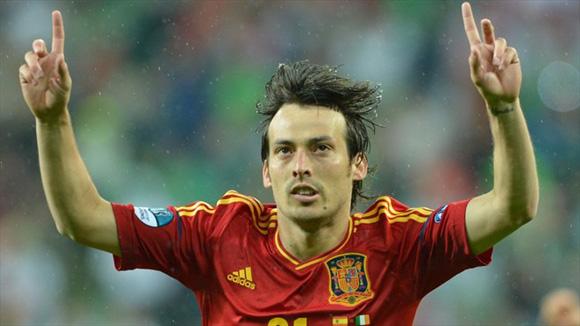 Silva anotó con mucha clase. Foto: UEFA.