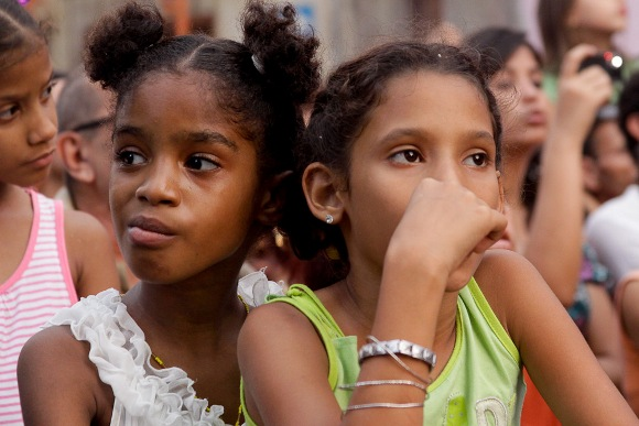 Niñas de Colón Foto: Alejandro Ramírez/Cubadebate