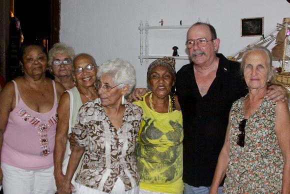 Al final del concierto Foto: Alejandro Ramírez/Cubadebate