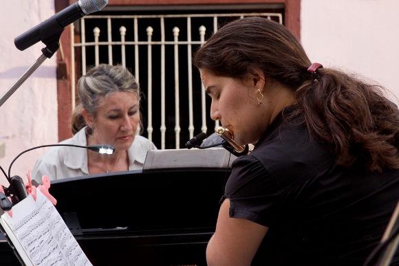 Dúo Ondina: Niurka González y María del Henar Foto: Alejandro Ramírez/Cubadebate