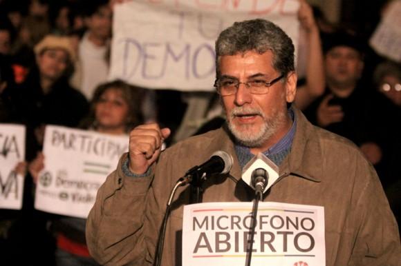 Televisión Pública de Paraguay protestas