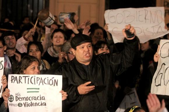 En fotos, Micrófono abierto en TV Pública de Paraguay