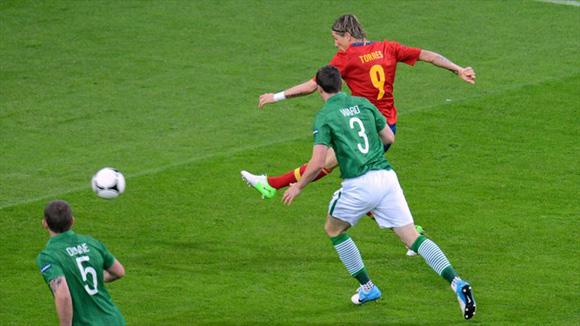 Torres despertó de su letargo. Foto: UEFA.