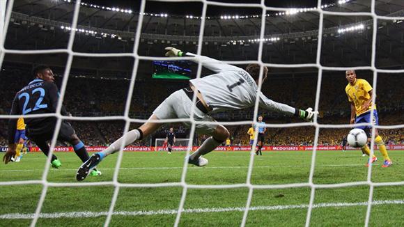 Welbeck hizo un gol increíble. Foto: UEFA.