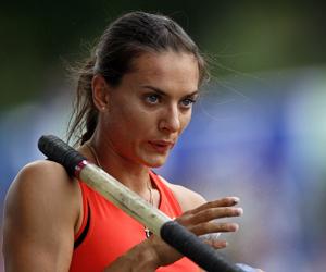 Isinbayeva será el rostro del Mundial de Atletismo de Moscú