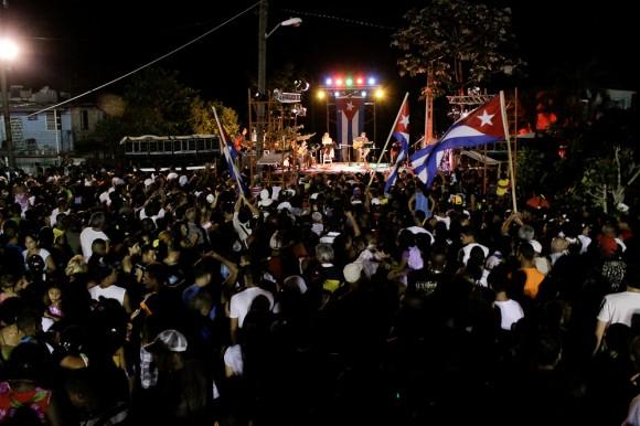 Presencia cubana. Foto: Alejandro Ramírez Anderson/ Cubadebate.