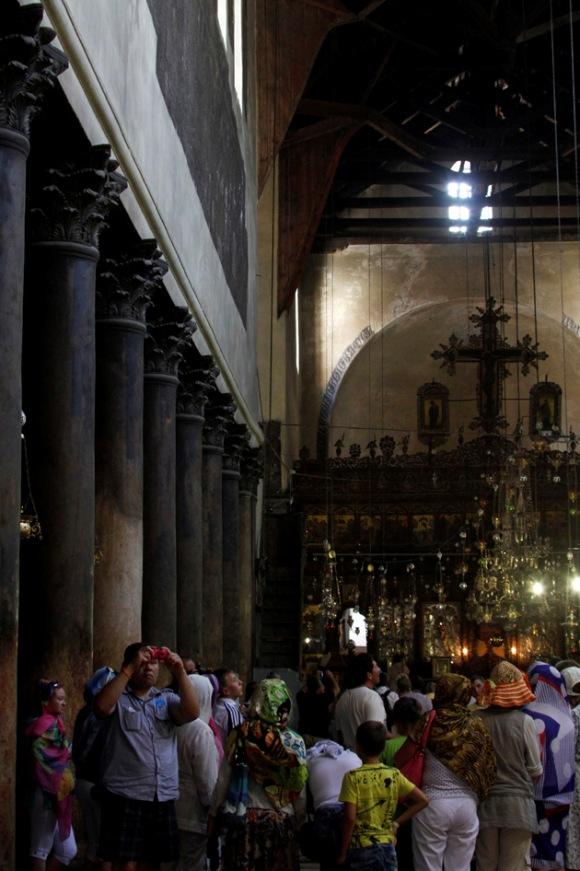 La Iglesia de la Natividad en Belén Foto: AFP/Musa Al Shaer