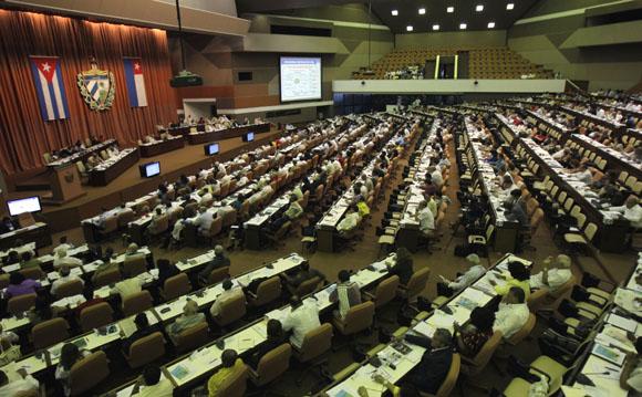 Asamblea Nacional. Foto: Ismael Francisco/Cubadeabte.