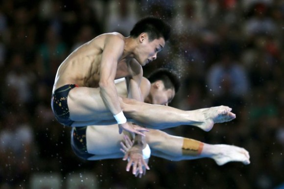 Yuan Cao y Yanquan Zhang de China. Foto: Getty Images