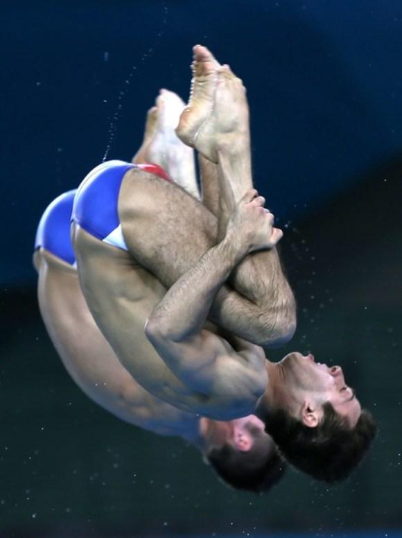 Nicholas Mccrory y David Boudia de Estados Unidos obtuvieron medalla de bronce. Foto: Getty Images
