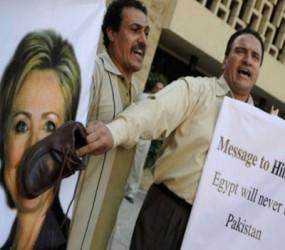 Hillary Clinton, rechazada en Egipto
