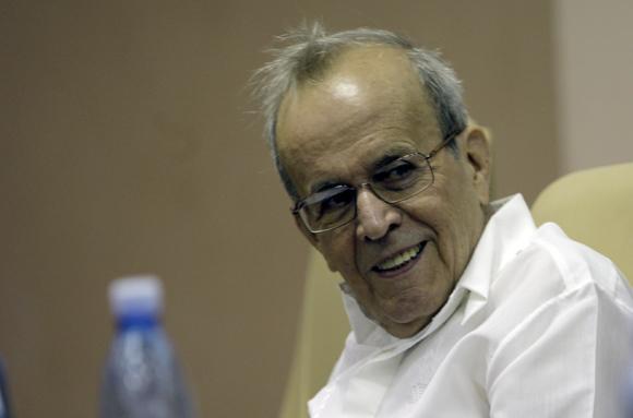 Ricardo Alarcon Presidente del Parlamento cubano en Trabajo en Comisiones del 9no Periodo Ordinario de la Asamblea Nacional. Foto: Ismael Francisco/Cubadebate.