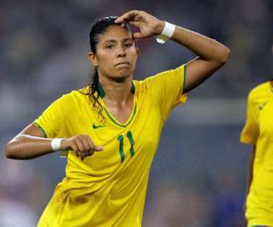 Cristiane salvó el orgullo de Brasil.
