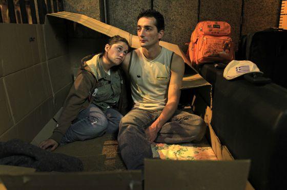 Los nuevos pobres se suman  a los veteranos porque ni siquiera  en los tiempos de bonanza  España erradicó la pobreza. Foto: El País