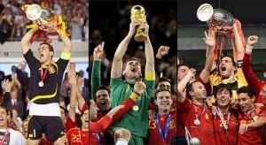 Casillas ha sido el encargado de levantar los trofeos en la Euro 2008, el Mundial 2010 y la Euro 2012. Foto: BBC Mundo