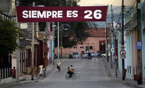 Guantánamo esta de fiesta para celebrar el Acto Nacional por el 26 de Julio. Foto: Ismael Francisco/Cubadebate.