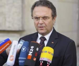 Hans Peter Friedrich. Ministro del Interior de Alemania.