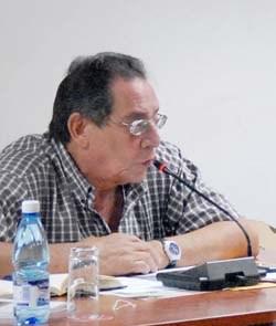 Héctor Rodríguez, voz de grandes momentos del deporte cubano
