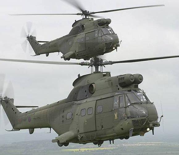 Helicópteros Puma, listos para operaciones especiales