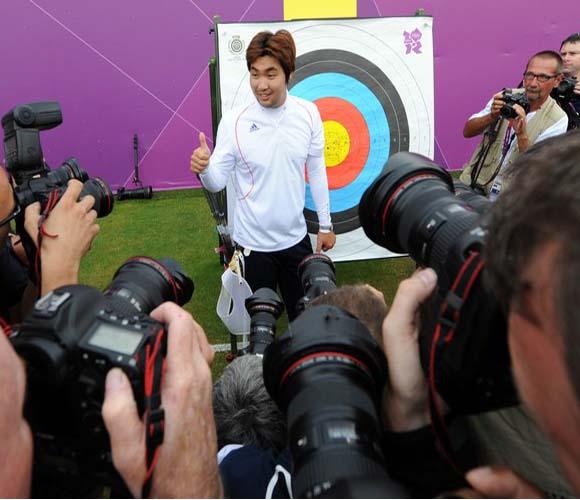 Tras una década entre los primeros del orbe, Im Dong Hyun es referencia de la arquería a nivel mundial. Foto: Daylife