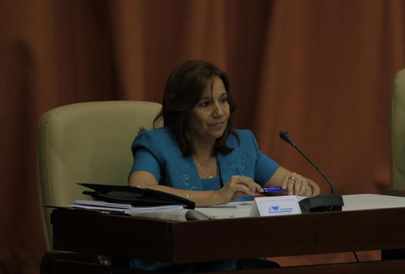 Ana María Mari Machado, nueva vicepresidenta de la Asamblea Nacional. Foto: Ismael Francisco/Cubadebate