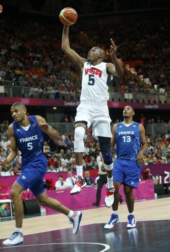 Kevin Durant, Estados Unidos, una de las estrellas del basket olímpico
