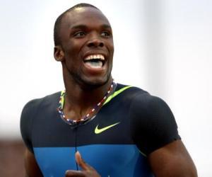 LaShawn Merrit, campeón mundial y olímpico de 400 metros.