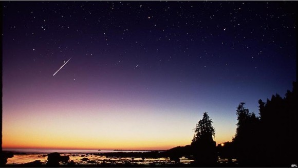 """En noches de gran actividad como la del 12 de agosto se puede esperar la aparición de al menos una """"estrella"""" cada minuto."""