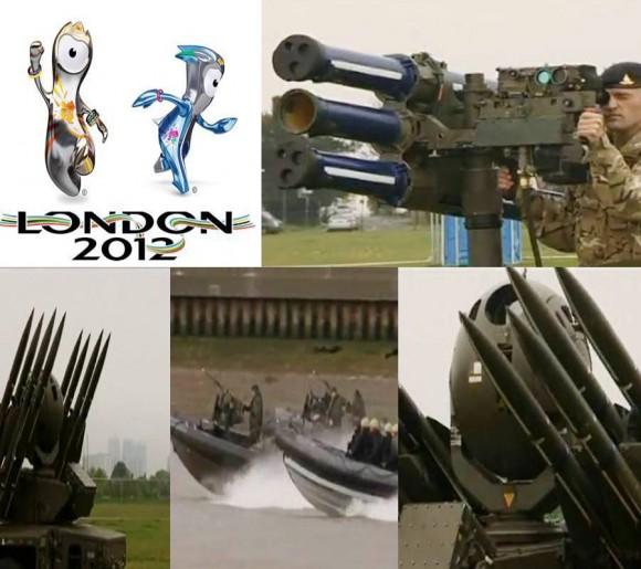 Londres 2012: ¿una Olimpiada o una guerra?