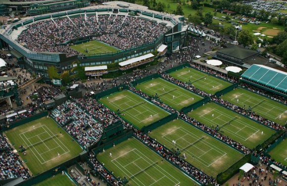 El All England Lawn Tennis Club, fundado en 1868 y sede del Grand Slam de Wimbledon, será escenario del tenis olímpico.