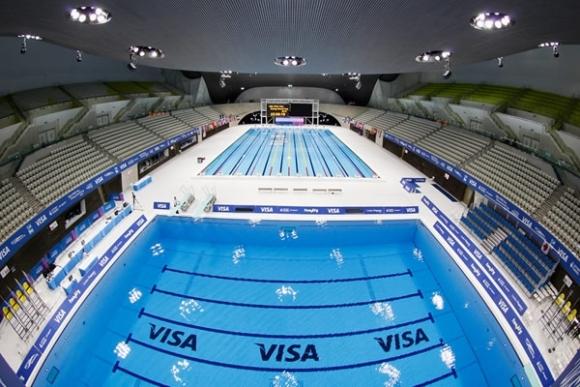 La instalación de los deportes acuáticos (natación, clavados y nado sincronizado) se convertirá en un centro público después de los Juegos Olímpicos.