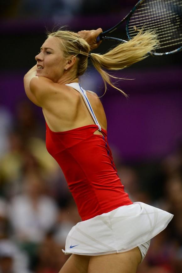 María Sharapova saldó con triunfo su debut en Juegos Olímpicos