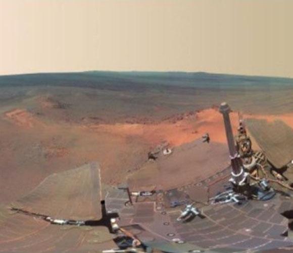 Imagen de Marte recién tomada por la NASA