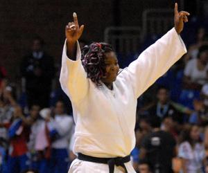 Idalys, la mayor esperanza dorada del judo nacional. Foto: Juan Pablo Carreras/AIN.