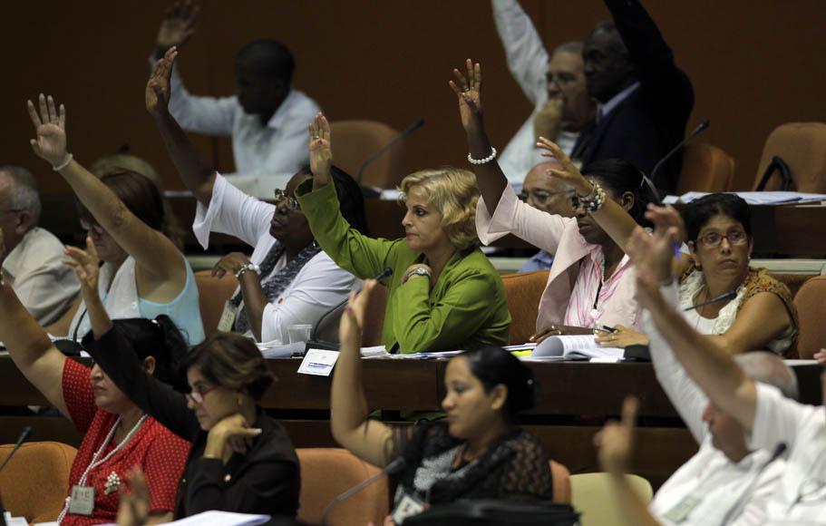 EL parlamento cubano aprobo la nueva ley Tributaria. Foto: Ismael Francisco/Cubadebate.