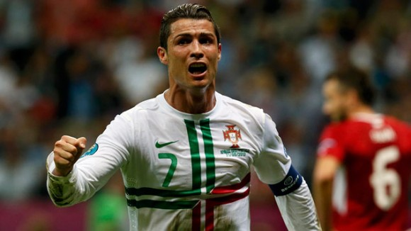 Cristiano Ronaldo dejó varias en la lista.Foto: Reuters.