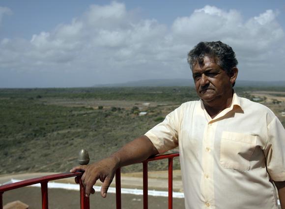 Eusebio Lazaro Matos, farero de Punta de Maisi. Foto: Ismael Francisco/Cubadebate.