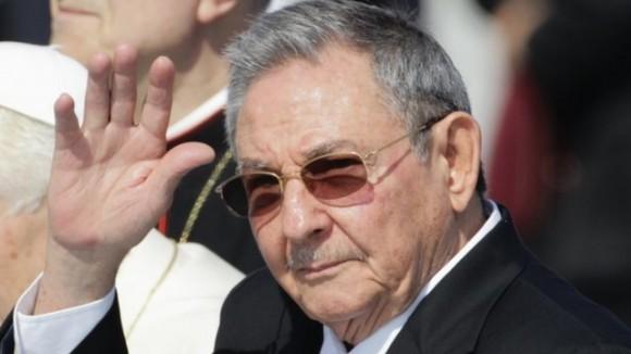 Raúl Castro en China.
