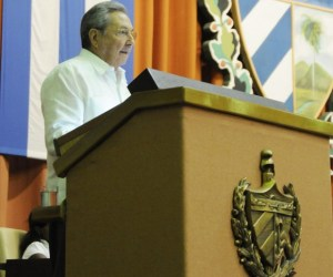 Clausura Raúl Castro IX Período Ordinario de Sesiones de la Asamblea Nacional (+ Video)