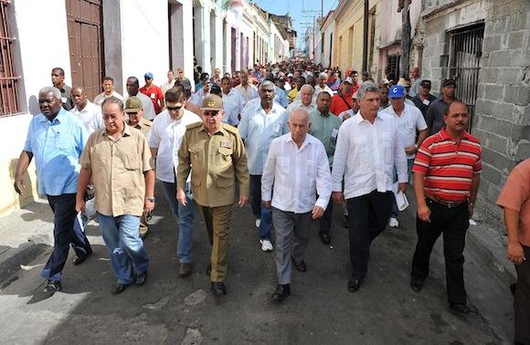 Díaz-Canel: Enfrentemos decididamente a quienes conspiran contra la Revolución