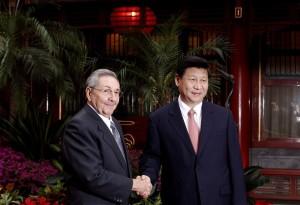 Raúl Castro y Xi Jinping. Foto: Archivo de Cubadebate/ AP