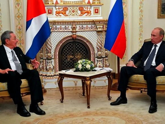 Encuentro en el Kremlin. Foto: NewsRussia