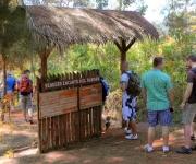 El salto del Guayabo, enclavado en la meseta de Pinares de Mayarí, en la provincia de Holguín, Cuba, comercializado por la agencia de turismo Ecotur, constituye una atractiva oferta turística en los meses de verano. Foto: Juan Pablo CARRERAS/ AIN