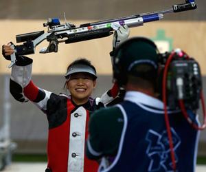 China obtuvo el primer oro de los Juegos.