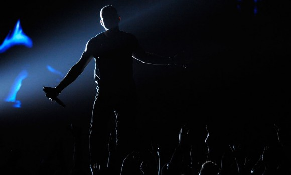 El artista Usher en los BET Awards 2012 en Los Ángeles, California, el 1 de julio de 2012. Foto: Reuters/Phil McCarten.