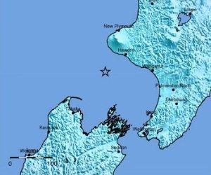 Terremoto de 6,2 se registra en  Nueva Zelanda